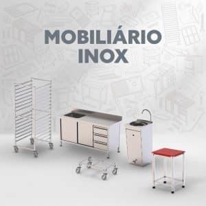 Mobiliário Inox